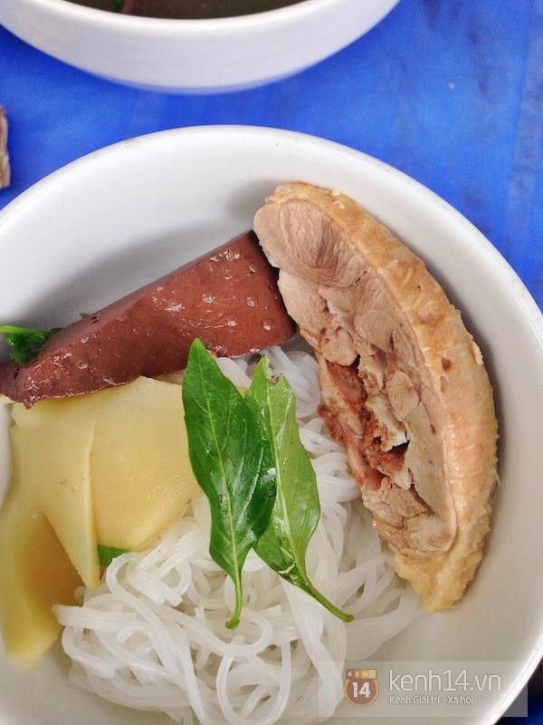Hà Nội: Trời hanh hao đi ăn bún ngan phố Hàng Phèn 1