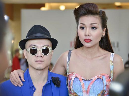 Thanh Hằng diện váy 3D đi chấm casting 8