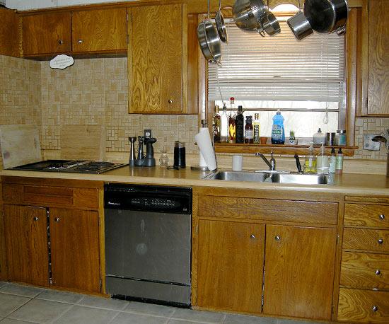Ngắm phòng bếp cũ trở nên rạng ngời sau trang hoàng 1