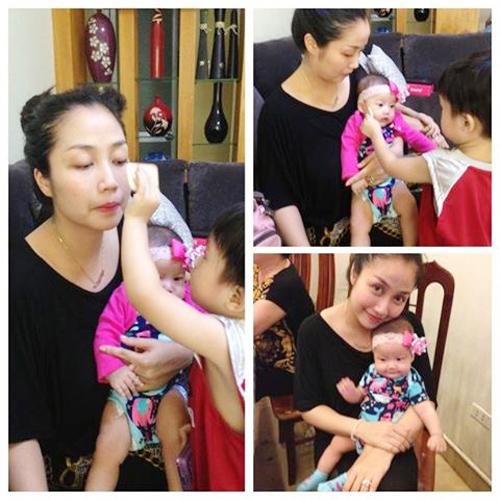Gia đình hạnh phúc của Ốc Thanh Vân 3