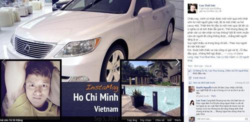 Cao Thái Sơn được 'fan cuồng' tặng xe hơi tiền tỉ làm quà sinh nhật 1