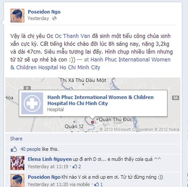 Ốc Thanh Vân sinh con gái thứ 2 2