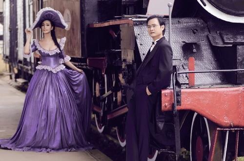 Ảnh cưới tuyệt đẹp theo phong cách cổ điển của Lê Kiều Như 14