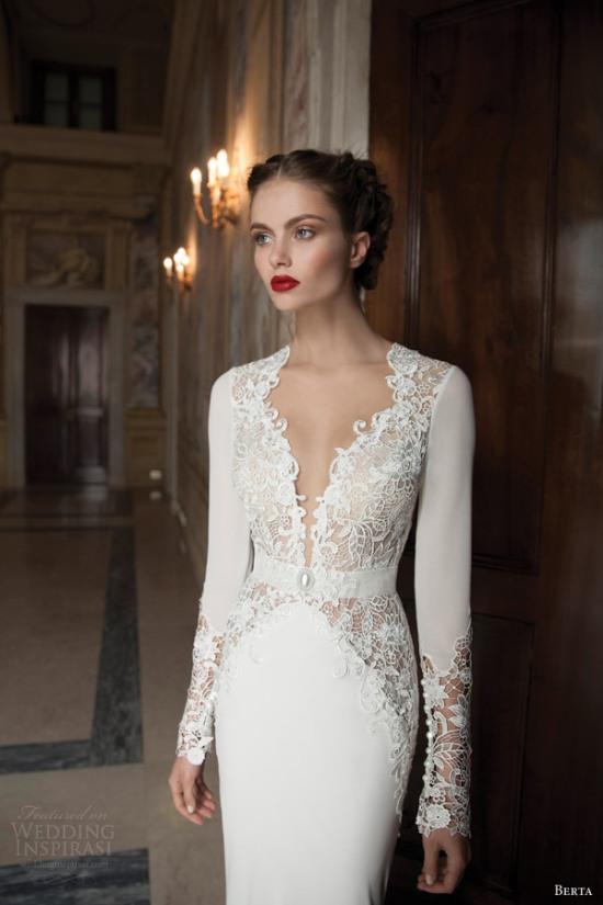 Những mẫu váy cưới dài tay đẹp đến khó tin 22