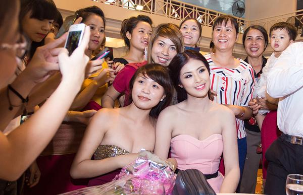 Hoa hậu Ngọc Hân ngày càng đẹp và trắng 8