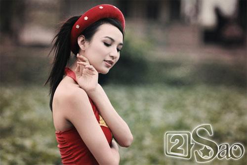 Tận mắt so sánh nhan sắc mỹ nhân Việt cùng diện áo yếm 3