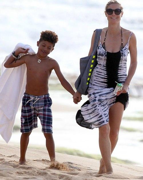 Siêu mẫu cứu con trai 7 tuổi khỏi chết đuối 1