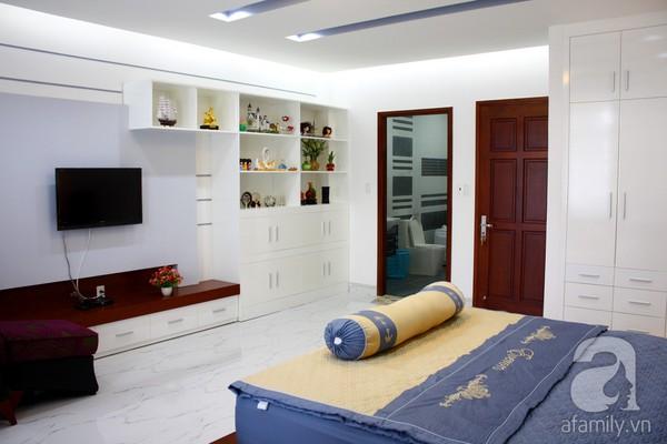 Mát mắt với ngôi nhà ngập sắc trắng tại Nhà Bè, TP Hồ Chí Minh 14