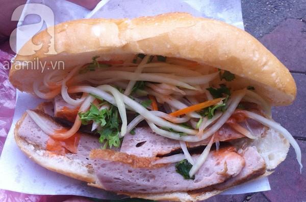 Những hàng bánh mì ngon nổi tiếng Hà Nội 2