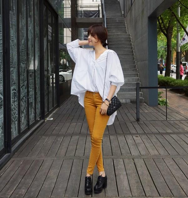 Những chiếc áo hè có thể tận dụng cho thời trang thu đông 8