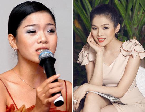 Mỹ nhân Việt đẹp hơn khi mũi thon thẳng 4