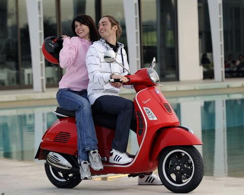 Piaggio Việt Nam sắp ra xe ga Vespa mới 2