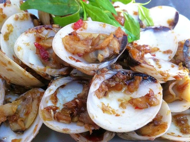 Khám phá hải sản kiểu ngư dân Bình Ba tại Hà Nội 1