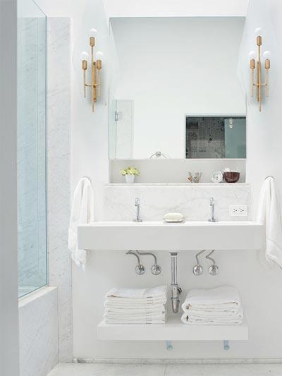14 chiêu khiến phòng tắm sạch, gọn 1