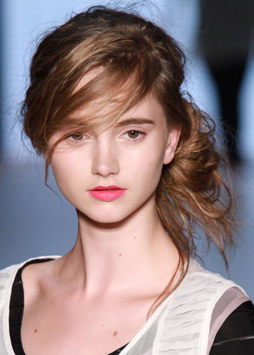 7 kiểu tóc búi, cột quyến rũ cho mùa Hè 2013 12