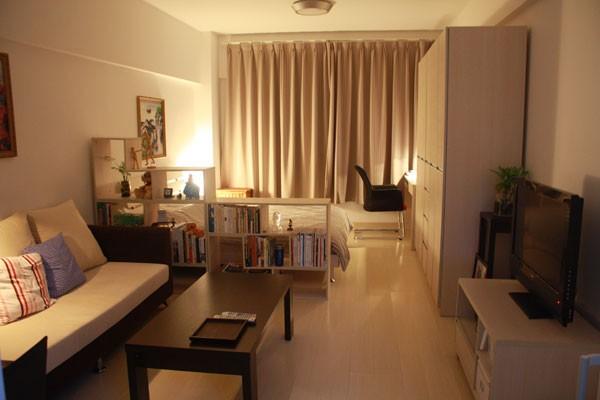 Ngắm căn hộ nhỏ có cách bài trí siêu đơn giản 1