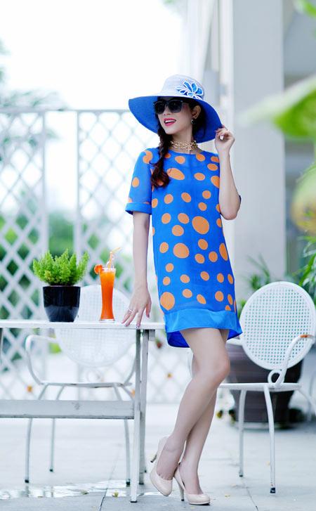 Hoa hậu Yến Nhi duyên dáng cùng nón thu 8