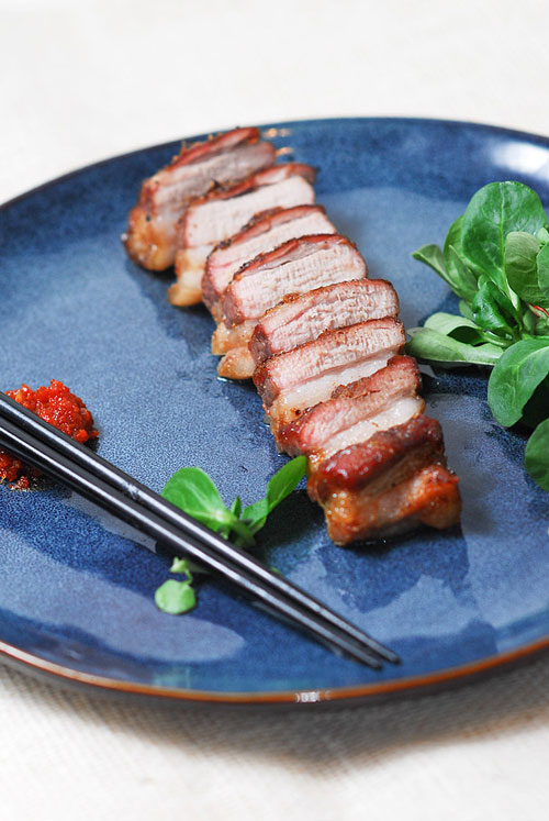 Thịt ba chỉ nướng kiểu Hàn ngon mê 4