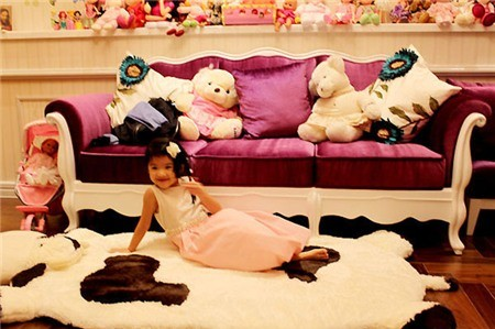 Khám phá phòng riêng của 'công chúa - hoàng tử' nhà sao Việt 9