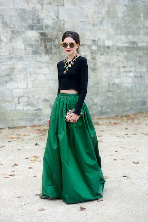 Những mẫu váy xòe đang 'tung hoành' làng thời trang 9