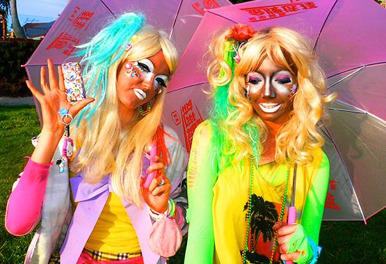 """Những phong cách """"quái đản"""" của các cô gái Nhật Bản 2"""