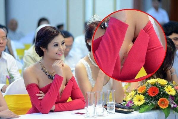 Mỹ nhân Việt và những pha ăn mặc hớ hênh nhất 2013 31