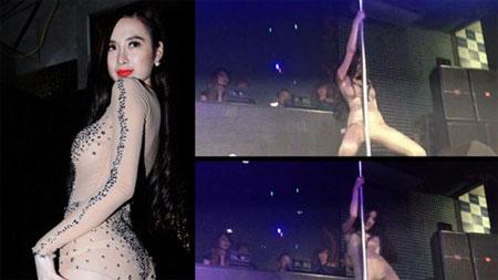 Phớt lờ ''lệnh cấm'', Angela Phương Trinh tiếp tục múa cột phản cảm 1