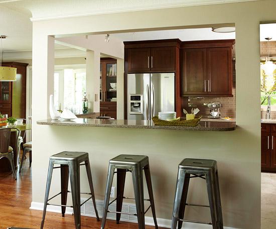Ngắm phòng bếp cũ trở nên rạng ngời sau trang hoàng 2