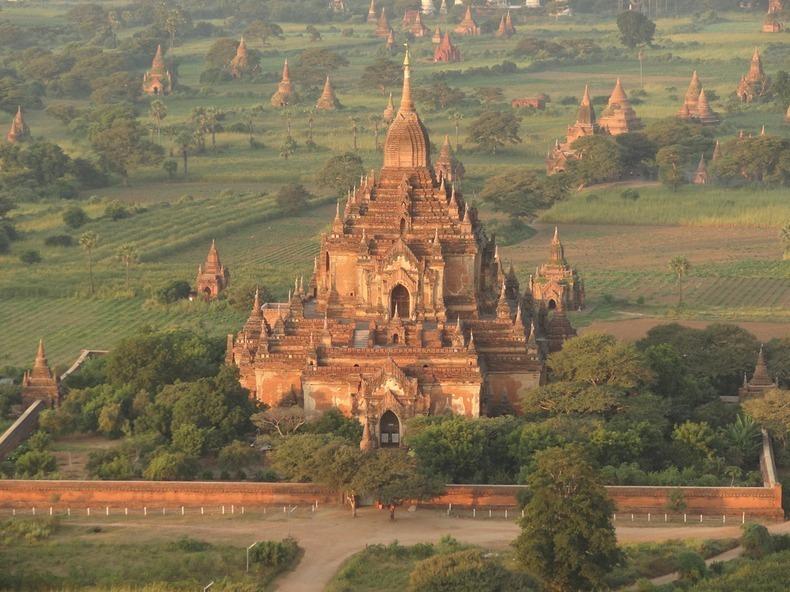 Bagan, xứ sở của hàng ngàn ngôi đền bị lãng quên 5