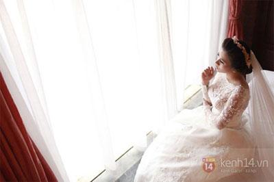 Mỹ Dung khoe ảnh cưới đẹp lung linh 1