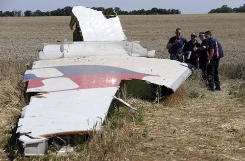 Tìm thấy thêm thi thể nạn nhân MH17 1
