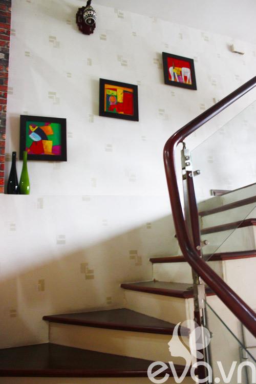 Ngắm nhà 40m² của vợ chồng trẻ ở Từ Liêm 4