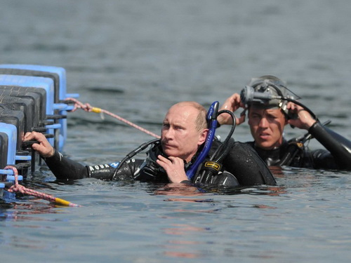 Tổng thống Putin được bầu là người độc thân hấp dẫn nhất 6