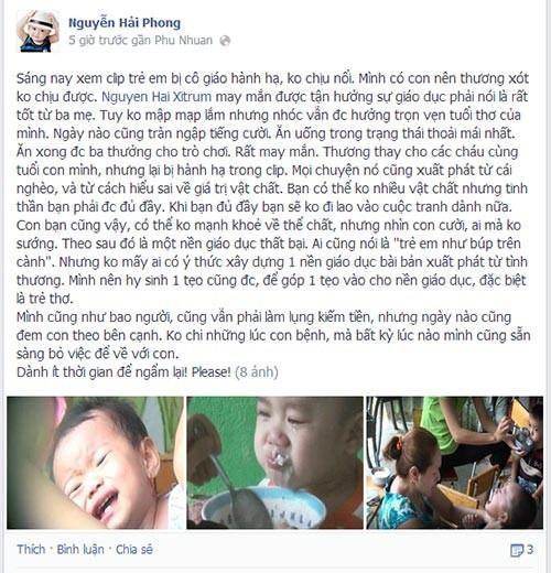 Sao Việt phẫn nộ vụ bảo mẫu bạo hành trẻ 11
