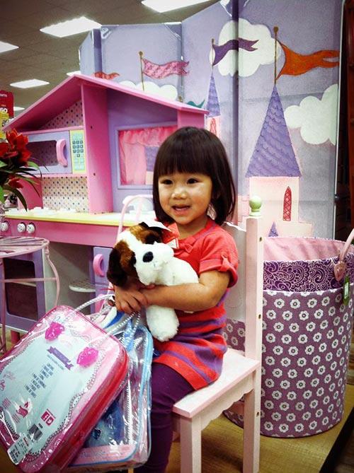 Con gái Trần Thu Hà vô cùng dễ thương 4