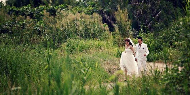 Ảnh cưới đẹp lung linh của Minh Hằng - Lương Mạnh Hải 1