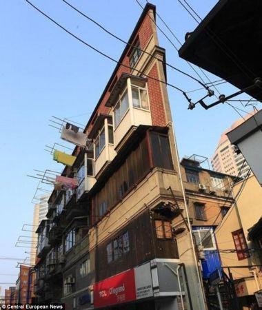 Ngắm ngôi nhà... không thể mỏng hơn ở Trung Quốc 2