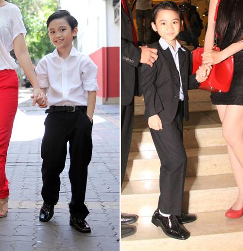 Thời trang sành điệu của nhóc tì nhà sao Việt (2) 7