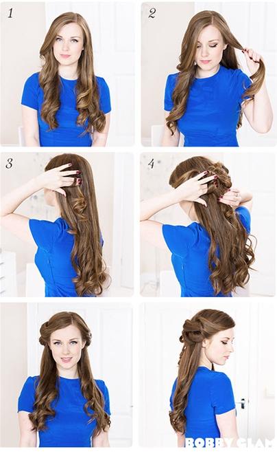 Những kiểu tóc búi đơn giản nhưng đẹp đến lạ kì 4