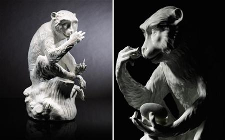 Chiêm ngưỡng con khỉ bằng sứ giá 27 tỷ đồng 1