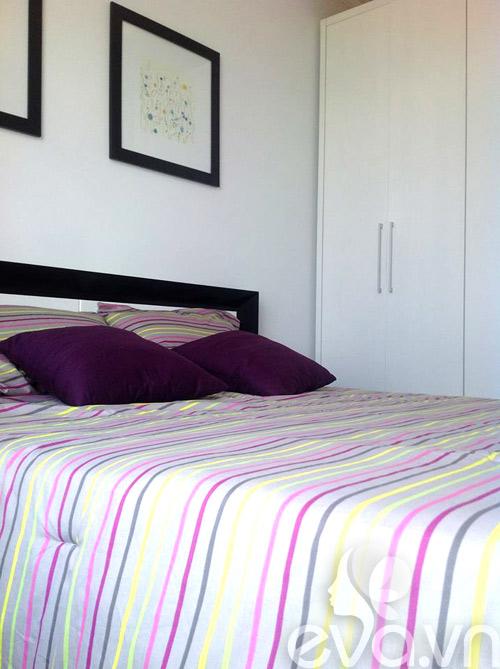Ngắm căn hộ 80m² màu tím kiêu sa 18