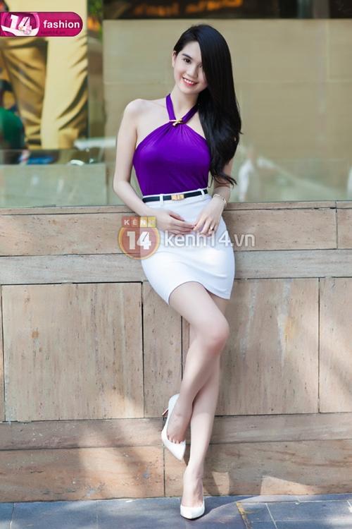 Phong cách thời trang quyến rũ của Ngọc Trinh 29