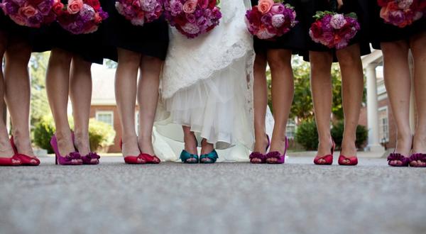 3 lời khuyên khi chọn giày cô dâu, phù dâu 1