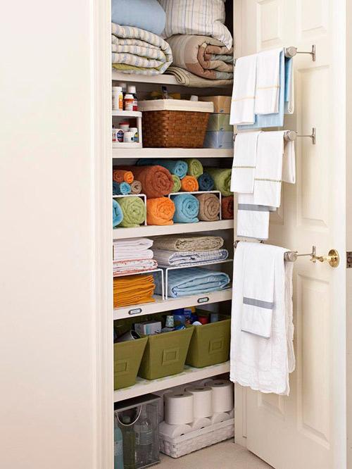 Bí quyết sắp xếp tủ đồ gọn gàng 6
