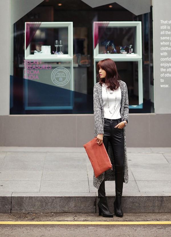 Mặc cardigan dáng dài phong cách, đủ ấm cho ngày se lạnh 1