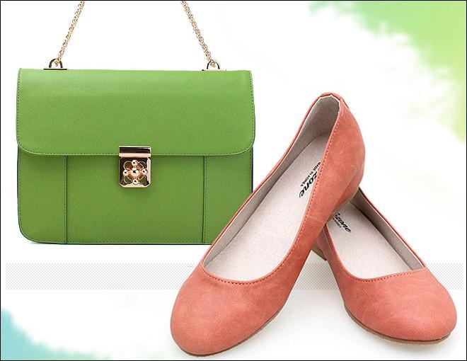 Cách phối đồ hoàn hảo giữa giày và túi 8