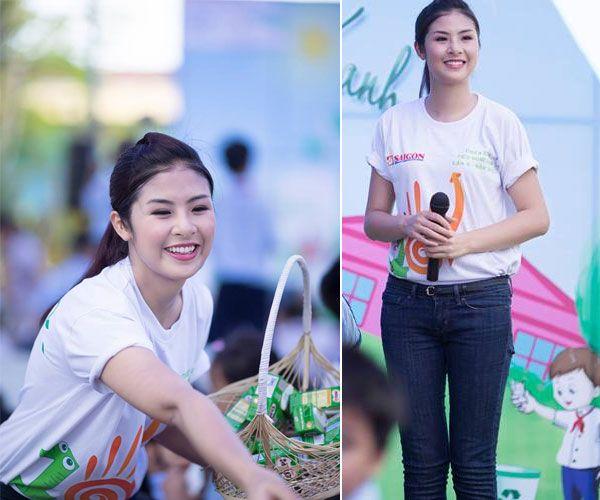 """5 """"nữ hoàng áo phông"""" của showbiz Việt 19"""