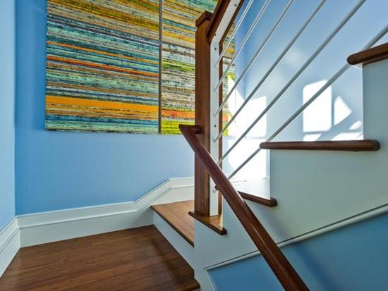 Những gợi ý tuyệt vời giúp tận dụng chiếu nghỉ cầu thang 11