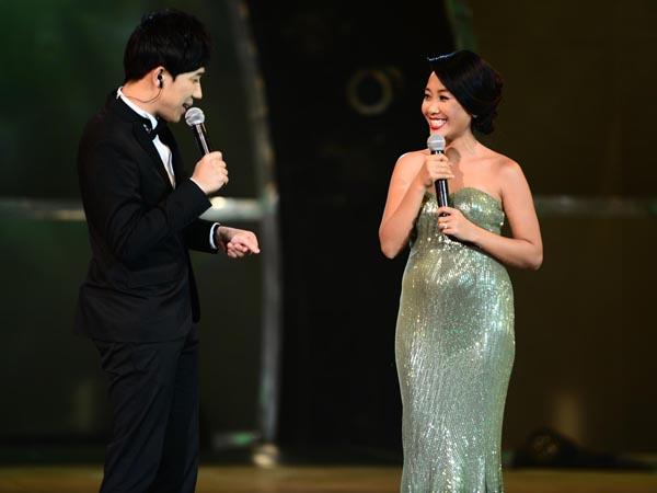 Đoan Trang hạnh phúc khi mang bầu hơn 3 tháng 5