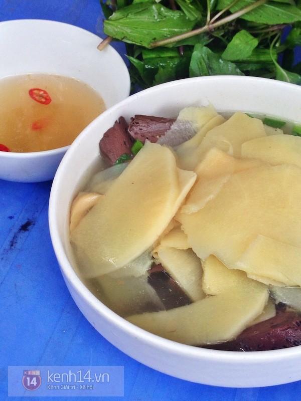 Hà Nội: Trời hanh hao đi ăn bún ngan phố Hàng Phèn 6